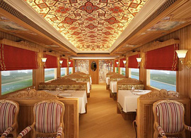 Maharajas Express Luxury Train - Indian Culture Vacations